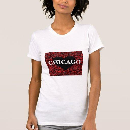 Corazón de Chicago Playera
