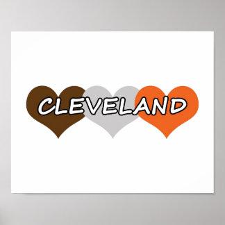Corazón de Cleveland Póster