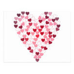 Corazon de Corazones - corazón de corazones Tarjetas Postales