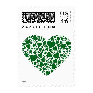 Corazón de corazones - esmeralda