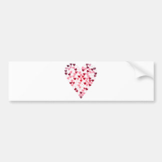 Corazon de Corazones - Heart of Hearts Bumper Sticker