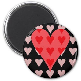 Corazón de corazones imanes