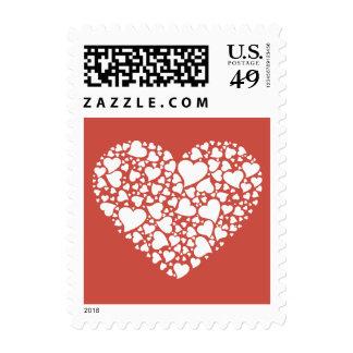 Corazón de corazones - terracota sellos