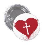 Corazón de Cristo Pins