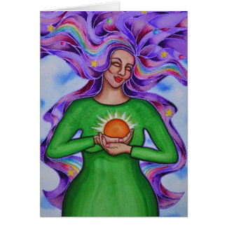 Corazón de curar la tarjeta #2 de Rita Loyd