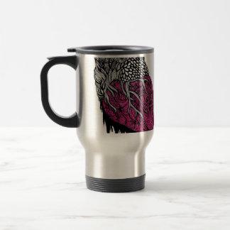 Corazón de derrota tazas de café