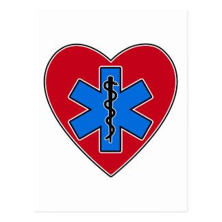 Corazón de EMT Postales