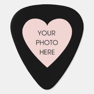 Corazón de encargo de la foto (frente y parte post plectro
