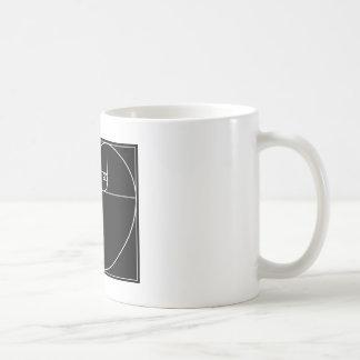 Corazón de Fibonacci Tazas De Café