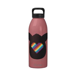 Corazón de Furby Botella De Agua Reutilizable