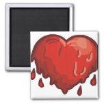 corazón de fusión iman de frigorífico
