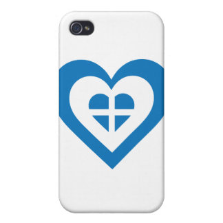 Corazón de Grecia iPhone 4 Fundas