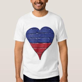 Corazón de Haití Remeras