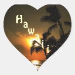 Corazón de Hawaii Colcomanias Corazon
