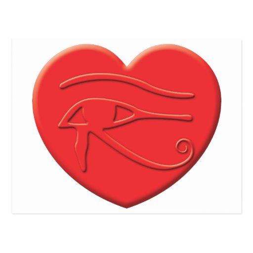 Corazón de Horus Postal