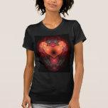 Corazón de Illuminati Camiseta