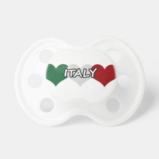 Corazón de Italia Chupetes