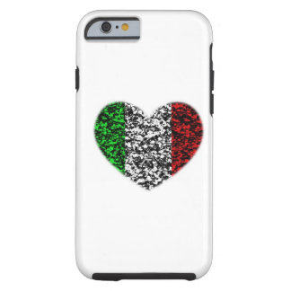 Corazón de Italia Funda De iPhone 6 Tough