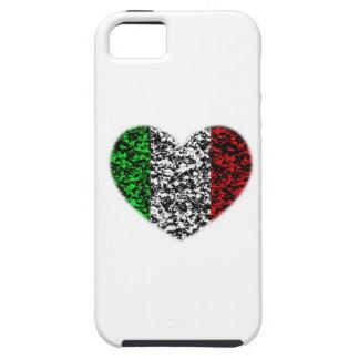 Corazón de Italia iPhone 5 Carcasa