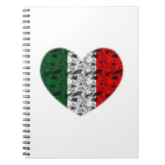 Corazón de Italia Libro De Apuntes