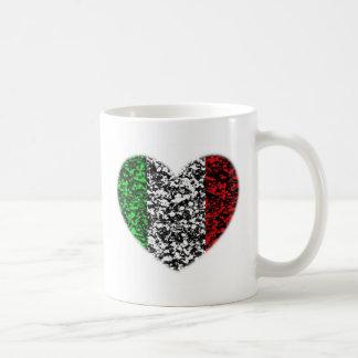 Corazón de Italia Taza De Café