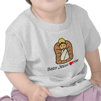 Corazón de Jesús del bebé (amores) yo Camiseta