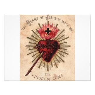 Corazón de Jesús (pequeño) Comunicados Personalizados