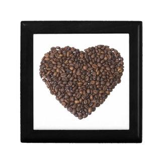 Corazón de Kaffeebohnen Cajas De Regalo