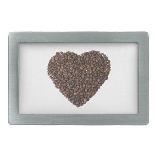 Corazón de Kaffeebohnen Hebilla Cinturon