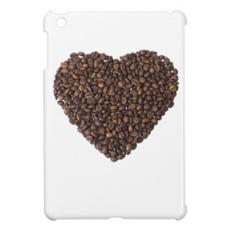 Corazón de Kaffeebohnen iPad Mini Protector