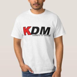Corazón de KDM y luz de Seul Playeras