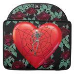 Corazón de la araña funda macbook pro