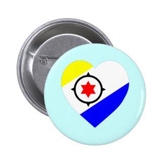 Corazón de la bandera de Bonaire Pin