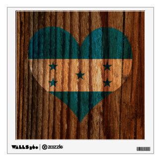 Corazón de la bandera de Honduras en el tema de