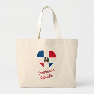 Corazón de la bandera de la República Dominicana c Bolsa
