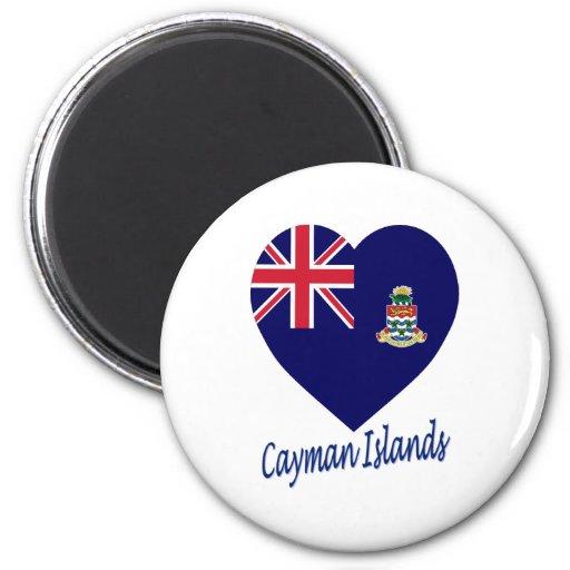Corazón de la bandera de las Islas Caimán Iman