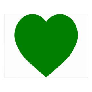 Corazón de la bandera de Libia Postal
