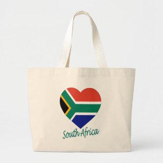 Corazón de la bandera de Suráfrica Bolsa