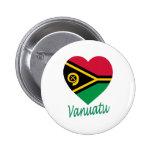 Corazón de la bandera de Vanuatu Pin