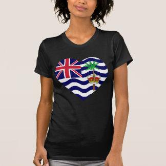 Corazón de la bandera del territorio del Océano Playera