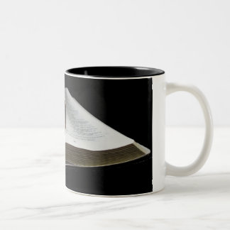 Corazón de la biblia taza de café