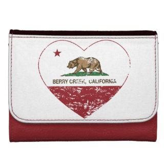 corazón de la cala de la baya de la bandera de Cal