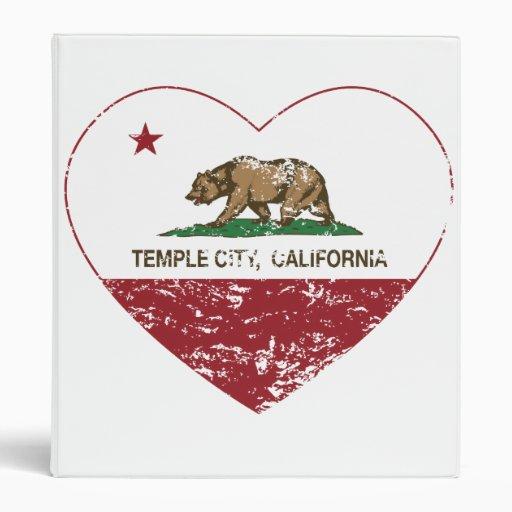 corazón de la ciudad del templo de la bandera de C