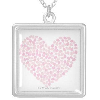 Corazón de la flor de cerezo grimpolas