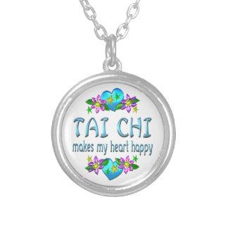 Corazón de la ji del Tai feliz Pendiente Personalizado