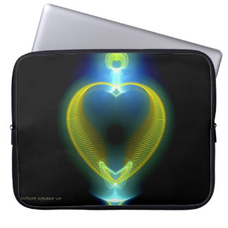 Corazón de la joya de Cleopatra Fundas Portátiles