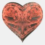 Corazón de la máquina colcomanias de corazon personalizadas