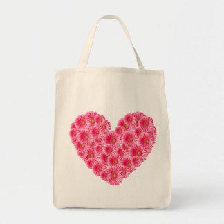 Corazón de la margarita de Gerber Bolsa Tela Para La Compra