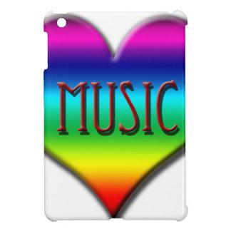 Corazón de la música del arco iris para los regalo