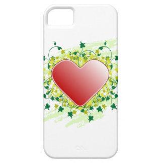 Corazón de la naturaleza iPhone 5 fundas